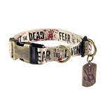 The Walking Dead Fight the Dead, Fear the Living Dog Collar