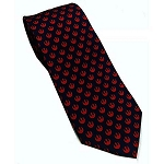Star Wars Rebel Alliance Navy & Red Silk Skinny Tie