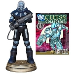 DC Chess Collection - #15 Mr. Freeze Black Pawn with Collector Magazine
