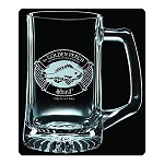 The Hobbit Golden Perch Premium Etched 25oz Glass Stein
