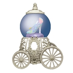 Disney Cinderella Movie Glass Slipper Carriage Water Globe