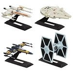 Star Wars Black Series EP7 The Force Awakens Die Cast Verhicles 4-Pack