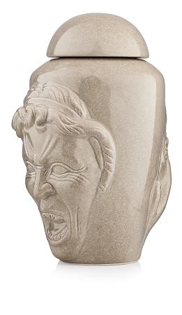 Doctor who weeping angel ceramic cookie jar - Tardis ceramic cookie jar ...