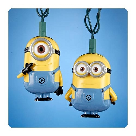 Despicable Me Minions String Lights