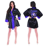 DC Bombshells Catowman Satin Robe - Previews Exclusive