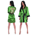 DC Bombshells Poison Ivy Satin Robe - Previews Exclusive
