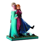 Disney Traditions Frozen Elsa and Anna Musical Statue
