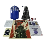 Doctor Who TARDIS and Dalek Sec Bluetooth Speaker Set