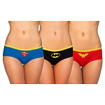 DC Comics 3pk Superhero Underwear