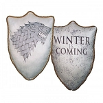 Game of Thrones House Stark Direwolf Throw Pillow