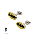 Batman Logo Steel Stud Earrings