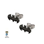 Batman Cut Stud Earrings