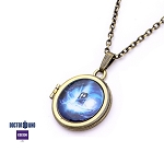 Doctor Who Gallifreyan Locket w/19