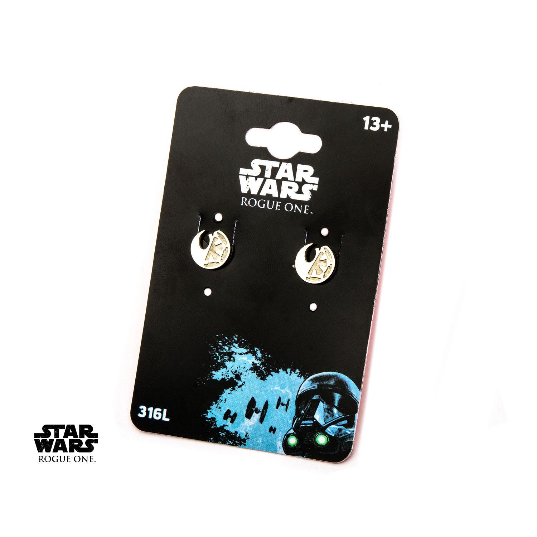 Star Wars Rogue 1 Rebel Alliancegalactic Empire Split Symbol Stud