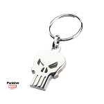 The Punisher Skull Logo Stainless Steel Key Ring