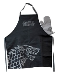 Game of Thrones House Sigil Apron & Oven Mitt - House Stark