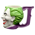 Joker 8oz Sculpted Ceramic Mug