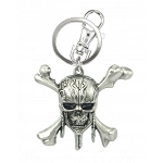 Pirates of the Caribbean Skull Pewter Key Ring