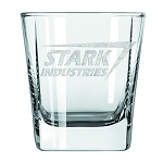 Ironman Stark Industries Laser Etched 2pk Glass Tumbler - Previews Exclusive