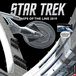 Star Trek Ships of he Line Wall Calendar - 2019