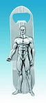 Silver Surfer Bottle Opener