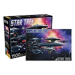 Star Trek Federation Ships of the Line 1,500 Piece Puzzle