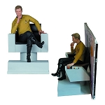 Star Trek TOS Captain Kirk Bookend Statue - Previews Exclusive
