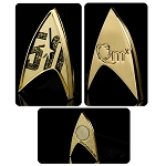 Star Trek 50th Anniversary Magnetic Badge Pin
