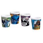 Doctor Who 4pc Ceramic 2oz Shot Glasses