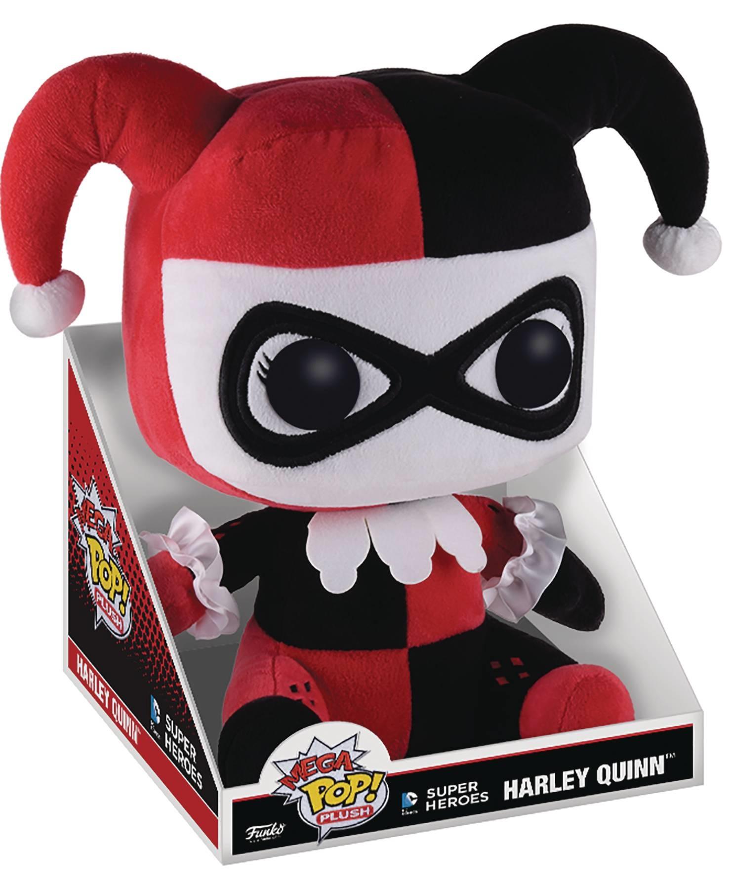 Harley Quinn 16 Jumbo Pop Plush