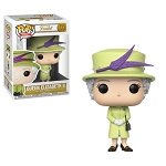 British Royal Family Queen Elizabeth II (Green Outfit)) Pop! Vinyl Figure
