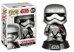 Star Wars The Last Jedi Captain Phasma Pop! Vinyl Bobblehead Figure