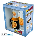 Dragonball Z Shot Glass, Glass & Espresso Mug 3pc Gift Set