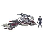 Star Wars EP7 The Force Awakens Jakku Landspeeder with 3 3/4