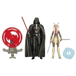 Star Wars Space Mission Darth Vader & Ahsoka Tano 3 3/4
