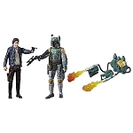 Star Wars EP5 Force Link Han Solo & Boba Fett 3 3/4
