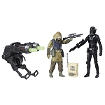 Star Wars Rogue One Rebel Commando Pao vs. Imperial Death Trooper 3 3/4
