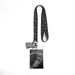 Game of Thrones House Sigil Lanyard - House Stark