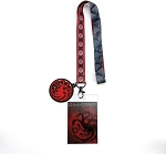 Game of Thrones House Sigil Lanyard - House Targaryen