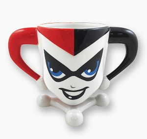 Harley Quinn 20oz Sculpted Mug