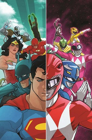 Justice League/ Power Rangers Hardcover