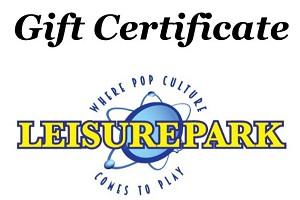 Leisure Park Entertainment Gift Certificate