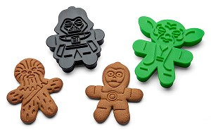 Star Wars Cookie Cutters 6pc Set