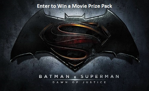 Win a Batman vs Superman: Dawn of Justice Prize Pack