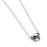Harry Potter Sterling Silver Necklace with Charm Carrier