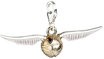 Harry Potter Sterling Silver Golden Snitch Clip-on Charm