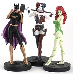 DC Masterpiece Collection Femme Fatales Series 2 Figure Set with Magazine