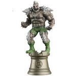 DC Chess Collection - #55 Doomsday Black Rook with Collector Magazine