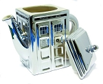 Doctor Who 50th Anniversary Ceramic TARDIS Teapot