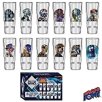 Doctor Who 50th Anniversary 12pc 2oz Shot Glass Set - Convention Exclusive